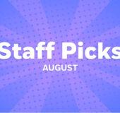 PRH Comics August Staff Picks