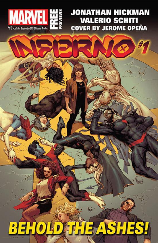 Marvel July 2021 Catalog