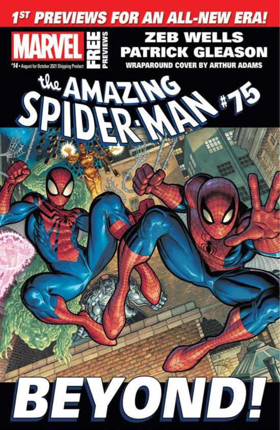 Marvel August 2021 Catalog