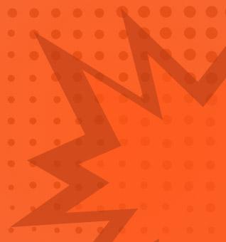Comic explosion symbol