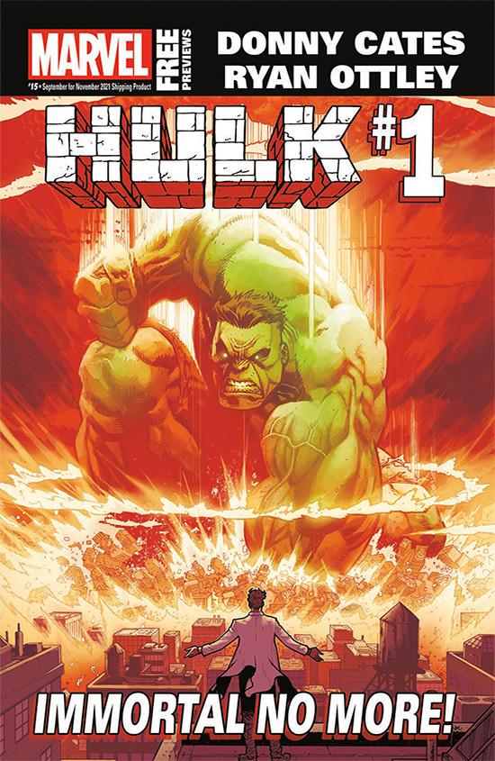 Marvel September 2021 Catalog