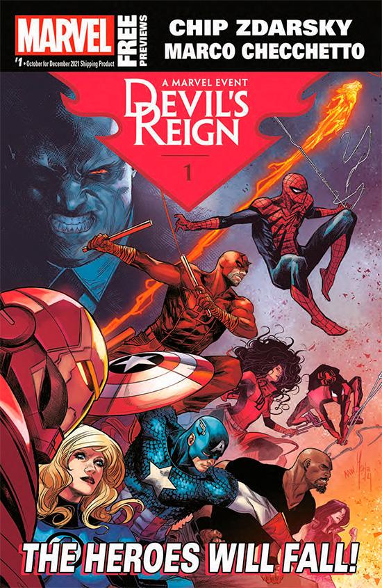 Marvel October 2021 Catalog